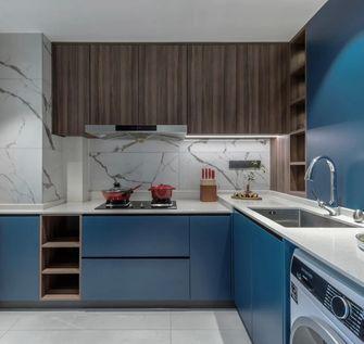 10-15万110平米三室一厅北欧风格厨房图片