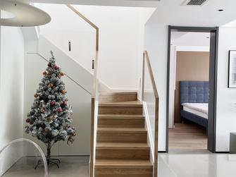 豪华型140平米复式混搭风格楼梯间设计图