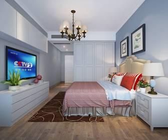 130平米四室两厅田园风格卧室装修图片大全