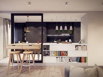60平米公寓工业风风格客厅图
