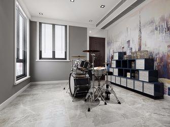 10-15万140平米三室两厅现代简约风格书房图片大全
