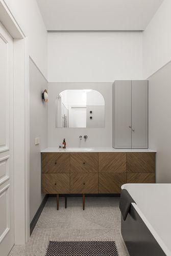 富裕型140平米一室一厅美式风格卫生间图片大全