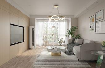 豪华型120平米四室两厅现代简约风格客厅装修图片大全