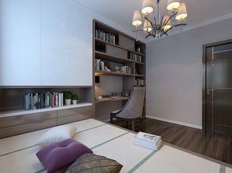 120平米三室两厅港式风格书房图片大全