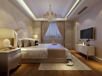 10-15万140平米别墅英伦风格卧室设计图