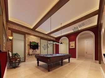 140平米别墅美式风格健身房欣赏图