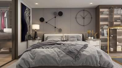 20万以上50平米一室一厅轻奢风格卧室效果图