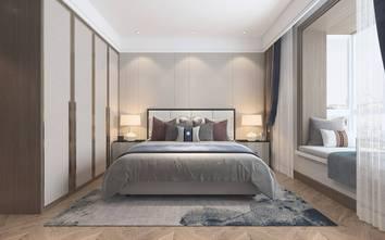 富裕型140平米三室两厅中式风格卧室图片