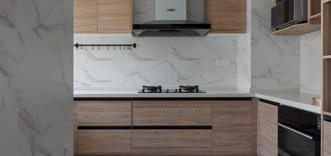 15-20万100平米三室一厅北欧风格厨房效果图