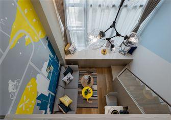 经济型50平米一室一厅北欧风格客厅效果图