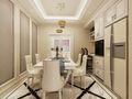 110平米三室三厅欧式风格餐厅装修案例