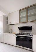 富裕型120平米三室一厅法式风格厨房装修图片大全