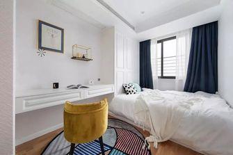 富裕型120平米三室两厅美式风格书房图片大全