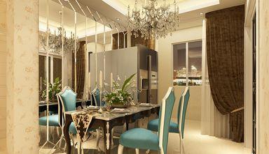 110平米三室一厅欧式风格餐厅欣赏图