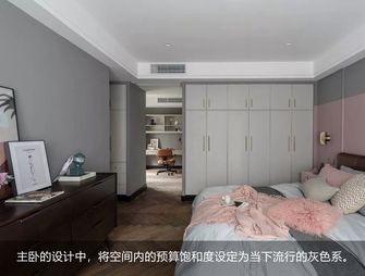 富裕型120平米三室两厅混搭风格卧室图片