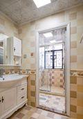 15-20万140平米四室两厅美式风格卫生间图片大全