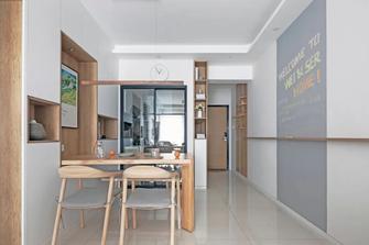 富裕型80平米三室两厅日式风格餐厅图片