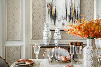 15-20万140平米别墅欧式风格餐厅设计图