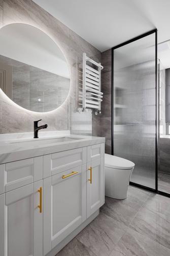 20万以上140平米三室两厅法式风格卫生间欣赏图