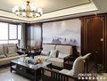 20万以上130平米三室一厅中式风格客厅图