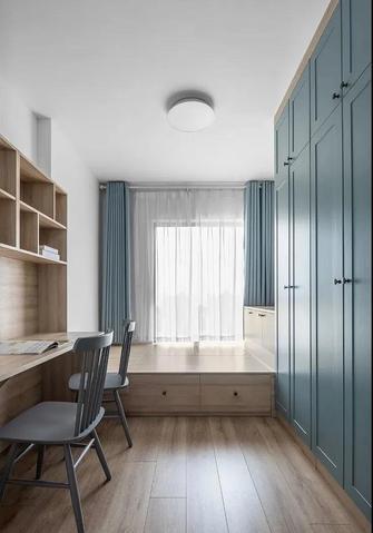 富裕型90平米三北欧风格书房图片