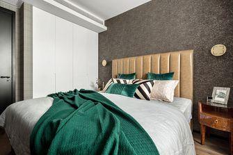 富裕型90平米三室一厅混搭风格卧室效果图