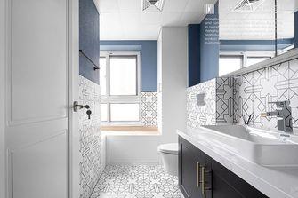 豪华型140平米三室两厅美式风格卫生间设计图
