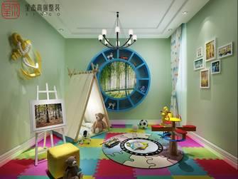 豪华型140平米别墅田园风格青少年房装修案例