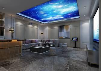 90平米三欧式风格影音室欣赏图