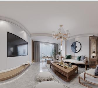 20万以上120平米三室三厅中式风格客厅图