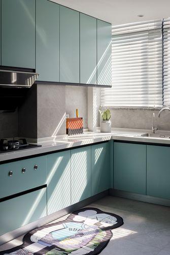 豪华型140平米三室一厅现代简约风格厨房装修图片大全