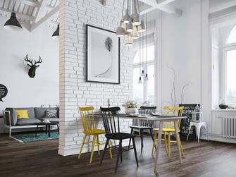 5-10万40平米小户型美式风格餐厅图