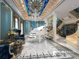 豪华型140平米别墅地中海风格玄关装修效果图