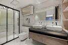 经济型120平米三室两厅现代简约风格卫生间图片大全