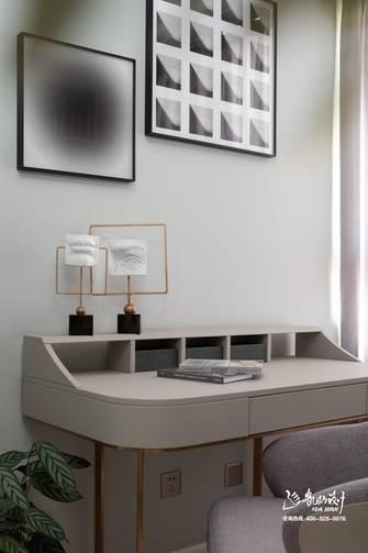 140平米四室两厅港式风格书房图片