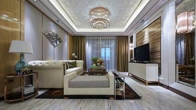 10-15万90平米三室一厅现代简约风格客厅图片