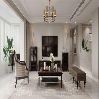 豪华型110平米四室两厅美式风格客厅图