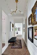 140平米别墅北欧风格走廊图片大全