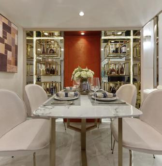 5-10万30平米小户型轻奢风格餐厅图