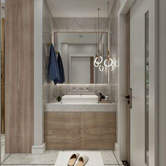 10-15万110平米三室一厅现代简约风格卫生间欣赏图
