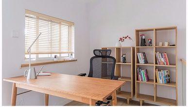 120平米公寓日式风格书房装修案例
