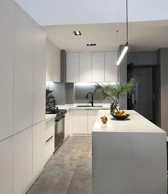 富裕型110平米三室两厅北欧风格厨房欣赏图