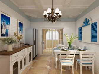 豪华型140平米地中海风格餐厅装修效果图