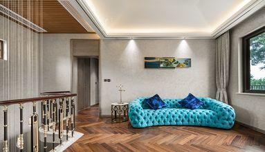 豪华型140平米别墅轻奢风格楼梯间装修图片大全
