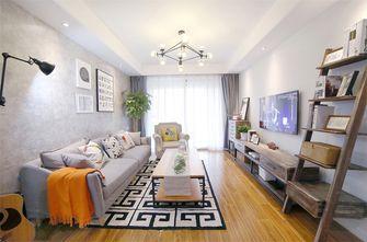 豪华型90平米三室两厅田园风格客厅装修图片大全
