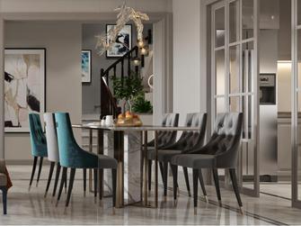 豪华型140平米三室两厅欧式风格餐厅装修图片大全