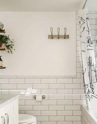富裕型80平米美式风格卫生间图片