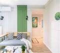 3-5万60平米公寓轻奢风格客厅装修案例