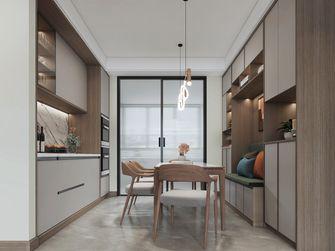 豪华型140平米三室四厅北欧风格餐厅装修案例