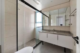 经济型120平米三室两厅现代简约风格卫生间欣赏图